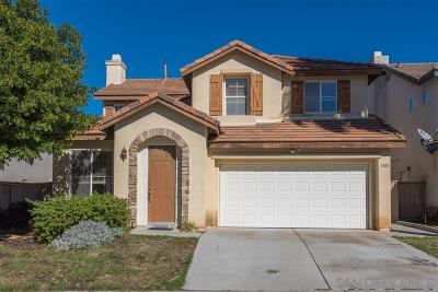 Chula Vista Single Family Home For Sale: 1385 Vallejo Mills St.