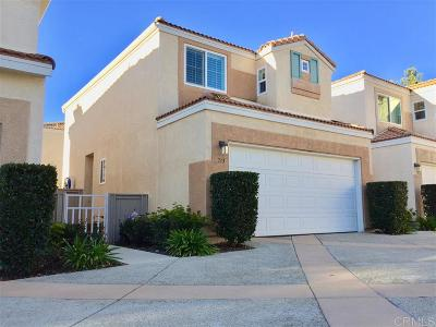 Chula Vista Single Family Home For Sale: 713 Caminito Estrella
