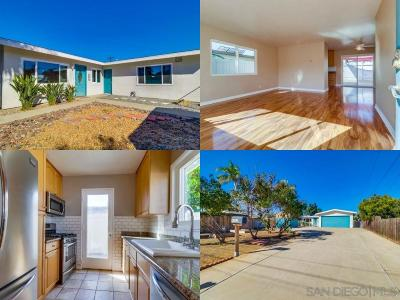 San Diego CA Single Family Home For Sale: $929,999
