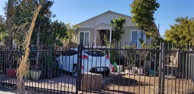 San Diego Single Family Home For Sale: 4190 Estrella Ave