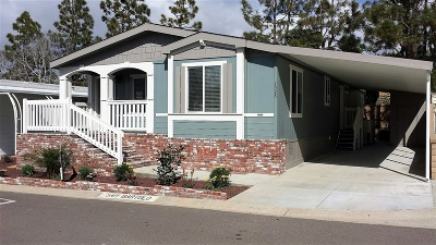 Carlsbad Mobile/Manufactured For Sale: 7328 San Bartolo St. #221
