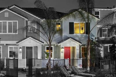 San Diego County Townhouse For Sale: 513 Turnstone Lane