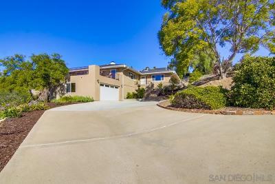 el cajon Single Family Home For Sale: 1442 Hidden Mesa Trail