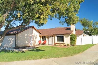 Santee Single Family Home For Sale: 9641 Follett Dr