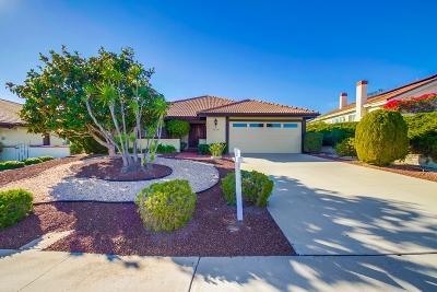 Single Family Home For Sale: 12787 Camino Emparrado