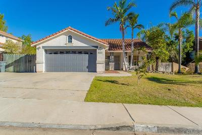 San Marcos Single Family Home For Sale: 286 Glendale Ave