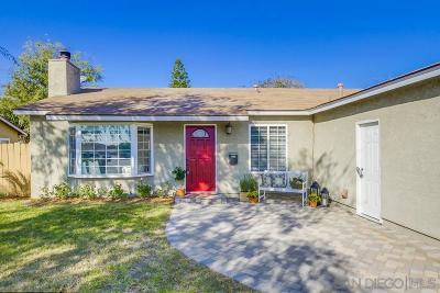 Poway Single Family Home For Sale: 12618 Roberto Way