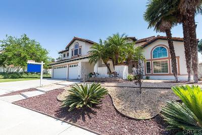 Chula Vista Single Family Home For Sale: 1882 Cabernet Dr