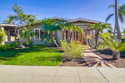 North Park, North Park - San Diego, North Park Bordering South Park, North Park, Kenningston, North Park/City Heights Single Family Home For Sale: 3553 Utah St