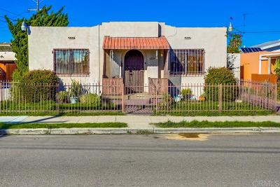 North Park, North Park - San Diego, North Park Bordering South Park, North Park, Kenningston, North Park/City Heights Single Family Home For Sale: 3224 Myrtle Ave