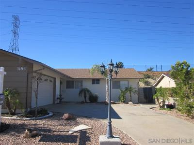 Clairemont Single Family Home For Sale: 3184 Norzel Dr