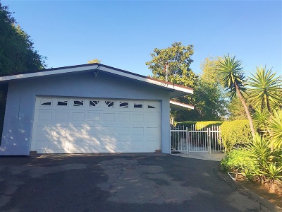 Vista Single Family Home For Sale: 1575 Elm Drive