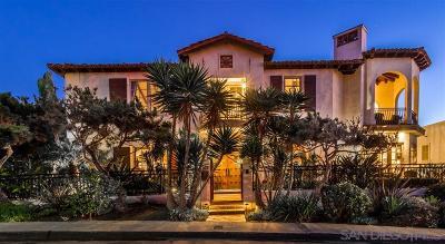 La Jolla Single Family Home For Sale: 225 Fern Glen