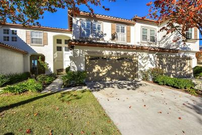 Carlsbad Townhouse For Sale: 1740 Bluebird Lane