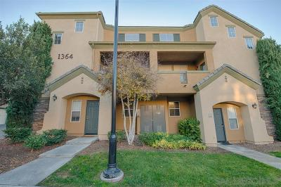 Chula Vista Townhouse For Sale: 1364 Nicolette Avenue #1513