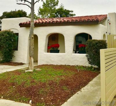 San Diego Multi Family 2-4 For Sale: 4531 - 4533 1/2 Oregon St