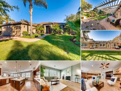 Encinitas Single Family Home For Sale: 571 Nobel Court