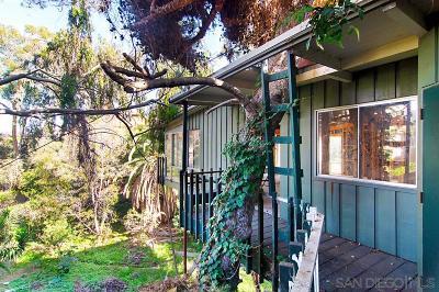 La Jolla CA Single Family Home For Sale: $999,000