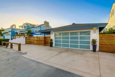 Del Mar Single Family Home For Sale: 150 25th Street