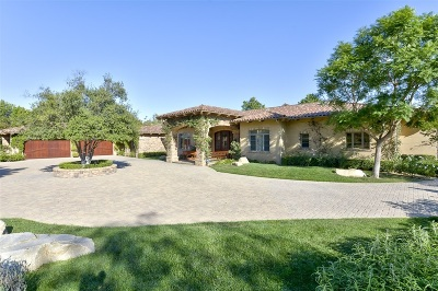 Single Family Home For Sale: 17891 Old Winery Way