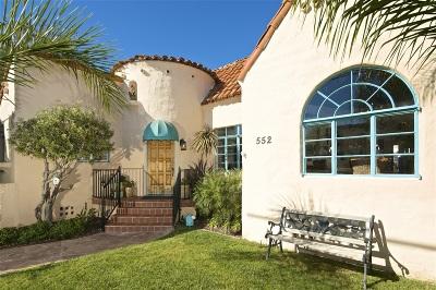 La Jolla CA Single Family Home For Sale: $2,125,000