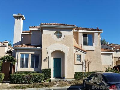 Single Family Home For Sale: 11005 Caminito Arcada