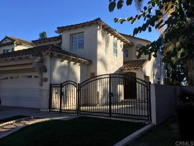Chula Vista Single Family Home For Sale: 678 Felino Way