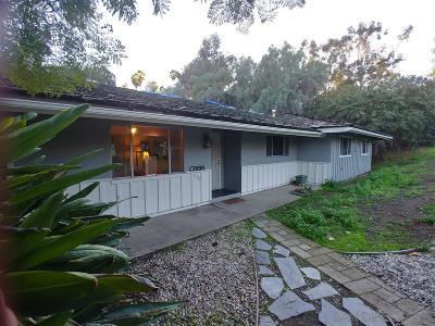 el cajon Single Family Home For Sale: 11715 Altoona