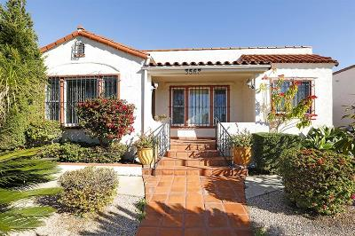 North Park, North Park - San Diego, North Park Bordering South Park, North Park, Kenningston, North Park/City Heights Single Family Home For Sale: 3567 Villa Terrace