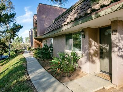 Escondido Townhouse For Sale: 1463 N Broadway #E