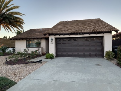 Single Family Home For Sale: 12727 Camino Emparrado