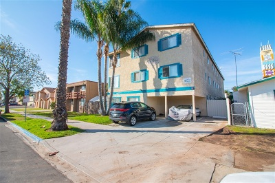 San Diego Multi Family 5+ For Sale: 3864 35th Street