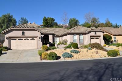 Fallbrook Single Family Home For Sale: 1020 Inverlochy