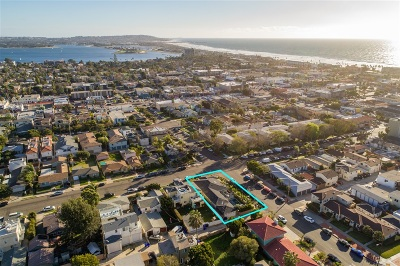 Pacific Beach, Pacific Beach Sail Bay, Pacific Beach, North Pacific Beach, Pacific Beach/Crown Point Single Family Home For Sale: 1104 Emerald