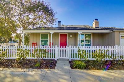 Coronado Single Family Home For Sale: 522 5th