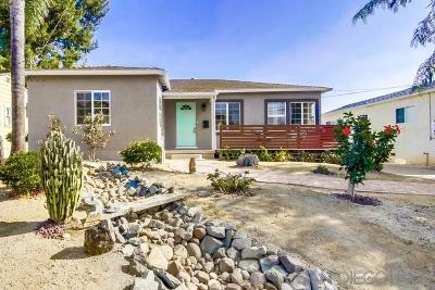 San Diego Single Family Home For Sale: 2443 Montclair