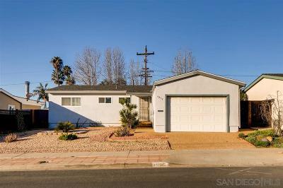 Single Family Home For Sale: 4252 Appleton St
