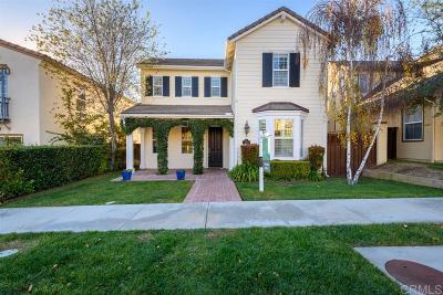Carlsbad Single Family Home Sold: 6259 Dartington Way