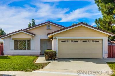 Single Family Home For Sale: 10688 Stanwell Cir