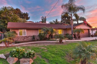 Vista Single Family Home For Sale: 1230 Cinchona Street