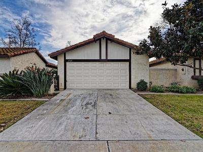 Oceanside Single Family Home For Sale: 4729 Dalea Pl