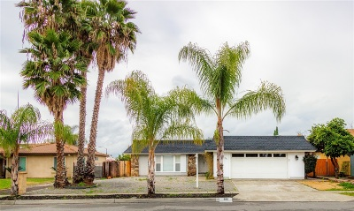 Escondido Single Family Home For Sale: 661 Maywood St