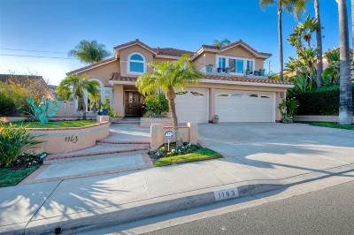 Oceanside Single Family Home For Sale: 1163 Masterpiece Dr