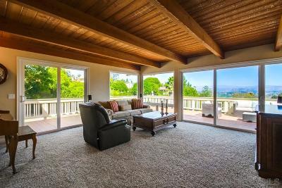 Escondido Single Family Home Pending: 1172 Via Valle Vista
