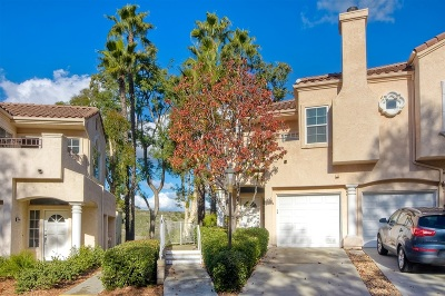 San Diego Townhouse For Sale: 11352 Portobelo Dr #1