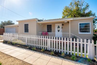 Escondido Single Family Home For Sale: 613 S Maple St
