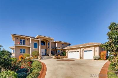 Vista CA Single Family Home For Sale: $995,000