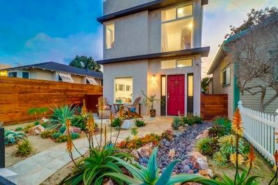Ocean Beach, Ocean Beach/Point Loma, Ocean Obeach Single Family Home For Sale: 4721 Muir Ave