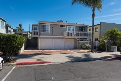 San Diego Attached For Sale: 4561 North Ave #2