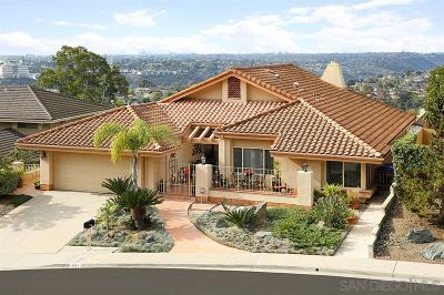 Del Cerro, Del Cerro Heights, Del Cerro Highlands, Del Cerro Terrace Single Family Home For Sale: 6034 Saint Therese Way